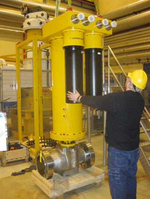 Subsea-actuator