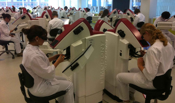 Usage at ACTA Dental University